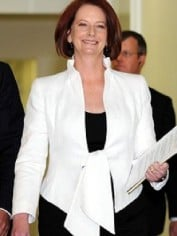 Australia's first elected female PM