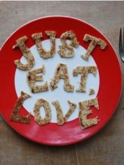 Just eat love