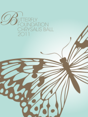 All profits from The Butterfly Foundation's Chrysalis Ball go to supporting people with eating disorders