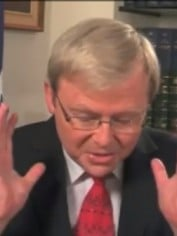 kevin rudd youtube video