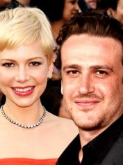 Jason Segel and Michelle Williams.