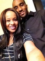 Bobbi Kristina and husband Nick Gordon