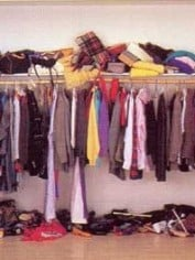 messy clothes