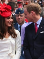 Kate and Wills.
