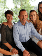 Tony Abbott and his family