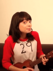Women sing about turning 30