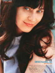 Zooey Deschenal without make up