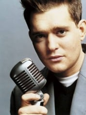 Michael Buble, one of the artists you'll hear on smoothfm