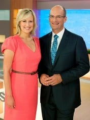 Sunrise hosts Mel and Kochie
