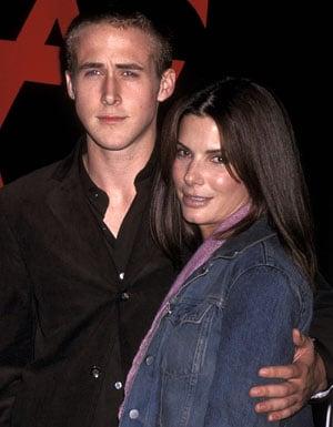 Ryan Gosling used to date Sandra Bullock.