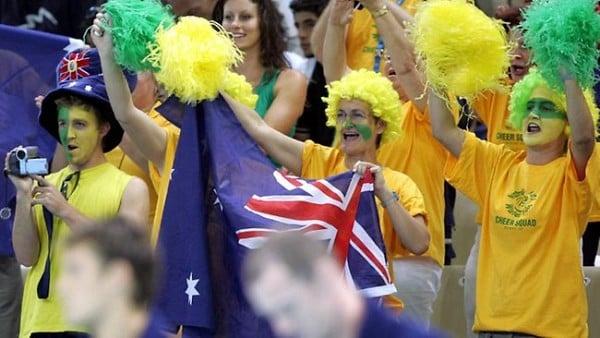 Olympics fans
