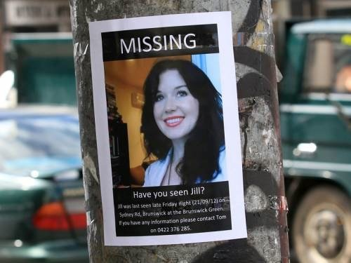 A poster for Jill Meagher