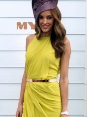 woman in yellow at crown oaks day 2