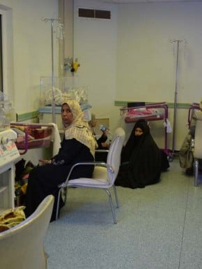 Other new mothers in Fallujah hospital