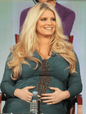 Jessica Simpson was criticised for the weight she gained during pregnancy