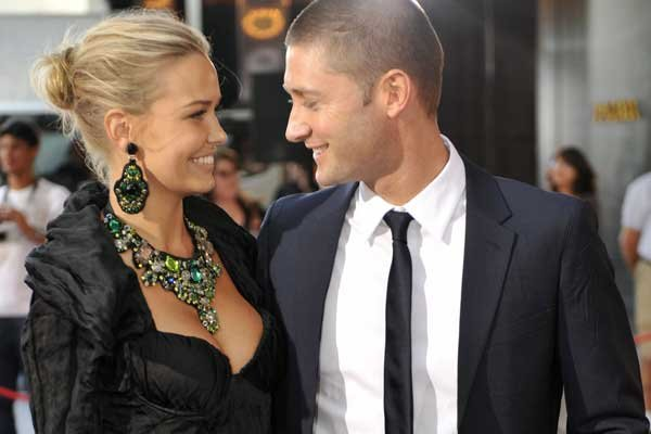 Lara Bingle and Michael Clarke... in happier days