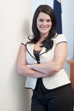 Sarah Hanson-Young. Not a user of hairspray.