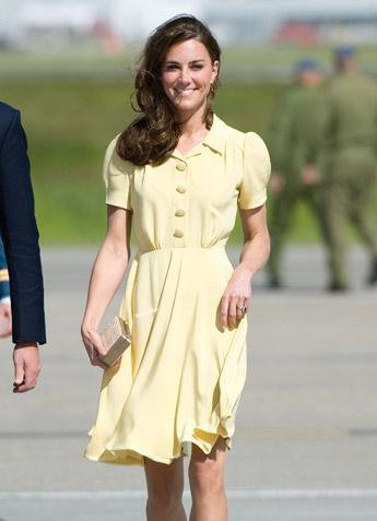 The Royal Palace announced Kate Middleton's pregnancy last week.