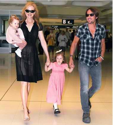 """""""Keith Urban: The order of my love is my wife and then my daughters."""""""