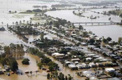flooded QLD