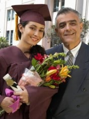 "young graduate and ""daddy"""