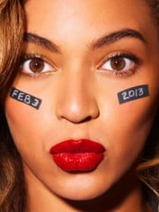 Beyonce Feb32013 On Face