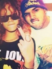 rihanna with chris brown