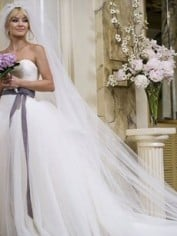 The Vera Wang dress I fell in love with.