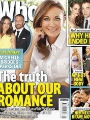 Michelle Bridges tells all in Who magazine, on stands today.