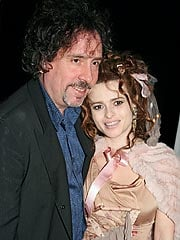 Tim Burton and Helena Bonham Carter.