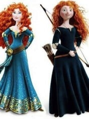New Merida vs. Original Merida