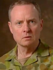 Army Chief Lieutenant General David Morrison