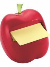 Apple Post It Dispenser