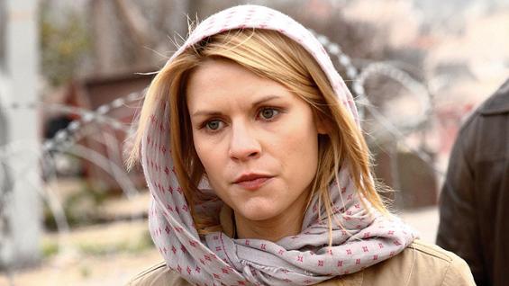 Claire Danes speaks ab... Claire Danes Homeland