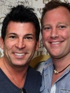 David Tutera is on the left, and Ryan Jurica on the right.