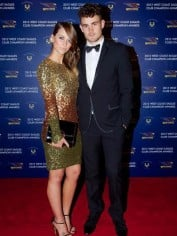 Courtney with her boyfriend