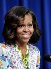 First Lady Michelle Obama - Screening of The Powerbroker