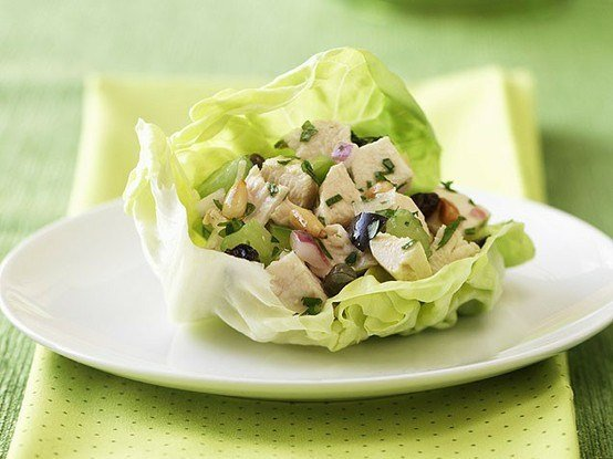 leftover-chicken-lettuce-cups