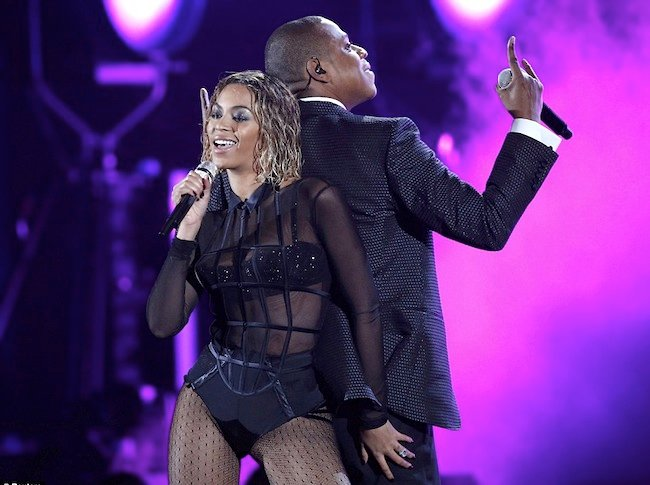 Beyonce and Jay Z Grammy performance The most disappointing thing about Beyonces Grammys performance.
