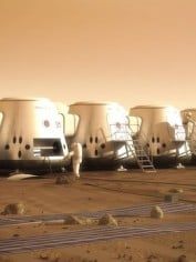people living on mars