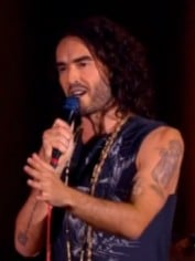 russell brand heckler