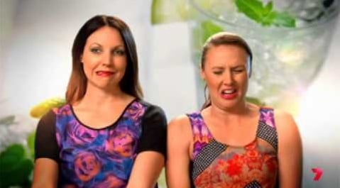Chloe and Kelly MKR Fluff: Those My Kitchen Rules girls everyone hates? Yeah, now they hate each other.