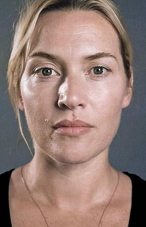 Kate Winslet Hollywood stars without makeup. Beautiful.