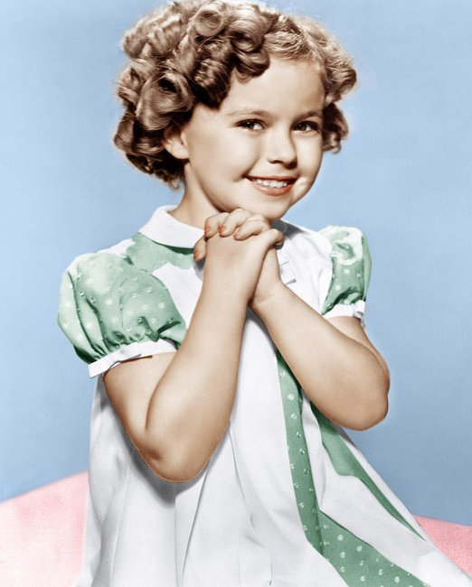 Shirley Temple, perhaps Hollywood's best known child star, has died ...