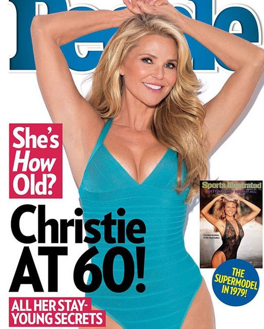 Christie Brinkley magazine