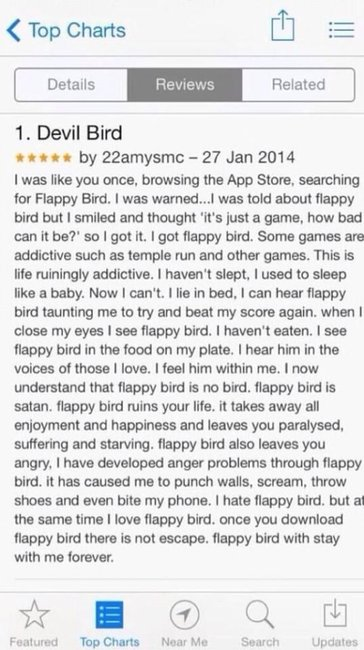 flappy bird rage 2 In Memoriam: The life and death of Flappy Bird.