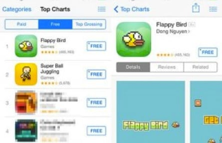 flappy bird tops In Memoriam: The life and death of Flappy Bird.