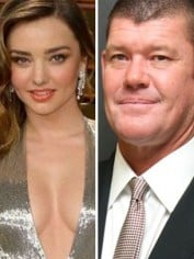 Miranda Kerr James Packer