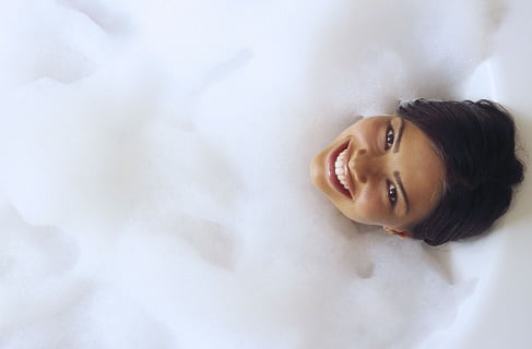recommending a bubble bath to someone It's safe to say bubble bath addiction is most definitely nurtured young  the  honesty recommendation – switch out bubble bath for a scoop of.