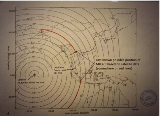 malaysain govt document  BREAKING NEWS: Confirmation MH370 was deliberately flown off course.